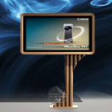 Steel Unipole Scrolling Light Box (TOP-SB26)