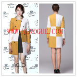 Women Winter Wool Cotton Long Jacket/Coat (14021242)