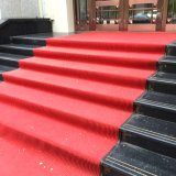 Big Small Custom Size Non Slip Commerical Heavy Duty Hotel Entrance Room Red Carpets