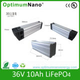 36V 10ah LiFePO4 Battery for Electric Bike with Aluminum Case