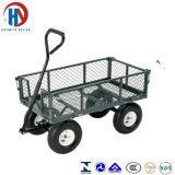 Metal Green Tool Cart