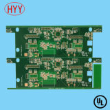 Double-Sided PCB with Green Soldermask