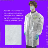 Disposable Non-Woven Lab Coat, Disposable Nonwoven Laboratory Coat