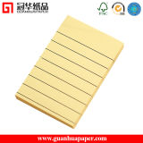 Personal Hard Cover Sticky Memo Pad Yellow Paper Sticky Notes