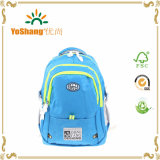 Soft 600d/PU Fabric Outdoor Student School Bags Sports Backpack for Pupils