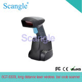 Industrial Long Distance Wireless Laser Bar Code Reader / Scanner