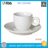 Simple Appropriate with Plate for Espresso Ceramic Coffee Mug