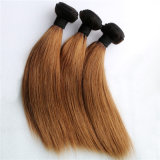 Silky Straight Ombre Color Monoglian Remy Human Hair Weaving