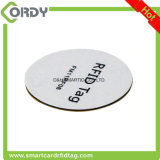 blank PVC RFID disc tag with NFC chip NTAG213 NTAG215