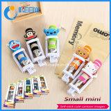Manufacture Mini Selfie Stick, Mini Wired Lovely Carton Selfie Stick