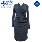 Ladies Fashion Dress with Long Sleeves