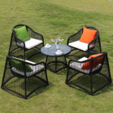 Cheap Outdoor Garden PE Outdoor Rattan Garden Coffee Shop Tables and Chairs Z389