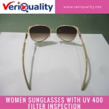 Women Sunglasses with UV 400 Filter Quality Control Inspection Service at Guangzhou