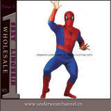 Halloween Men Spider Long Sleeve Bodysuit Adult Costume (0043)