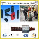 Cnm Lmm Round Steel Screw Rebar Anchor for Prestressing