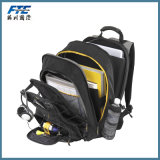 Man Travel and Casual Backpack with PU