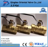 Brass Ball Valve with Nipple Top Quality Hand Operated Union End 2 Inch Low Price for Oil