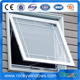 White Color Aluminum Awing Window