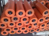 108mm Dia Parallel Metal Flat Conveyor Idler Roller