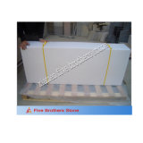 White Wooden Vein Marble Vanity Top