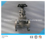 Bolt Bonnet Flanged A182 F304 Forged Stainless Steel Gate Valve