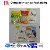 Plastic Pet Food Packaging, Ziplock Stand up Dog Food Bag