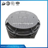 OEM Sand Cast Iron Double Seal Manhole Cover for Drainage Cover