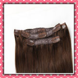 Quality Brazilian Human Hair Clip-on Extensions Silky 14inch