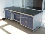 High Quality Wood Wall Lab Bench with Frame Laboratory Furniture (JH-WF004)