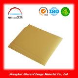Gold A4 Inkjet Printable Lamination PVC Card Printing Material