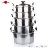 Good Quality Stainless Steel American High Pot Set