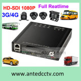 Rugged 4 Channel Mdvr Coach/ School Bus DVR with GPS Tracking WiFi