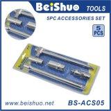 5PCS CRV Steel Sliding Wrench Spanner Extension Bar Hand Tools