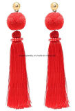 New Design Elegant Long Thread Fashion Dangle Tassel Earrings