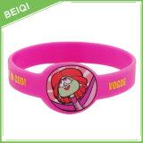 Custom Silicone Wristband with Watch Shape, No MOQ, Custom Logo