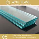 6mm Rectangular Shelf Tempered Glass with Flat Polished Edges