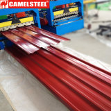 Ral 3002 Color Galvanized Roofing Metal Sheet