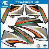 Die Cut Transparent White PVC Motorcycle Car Sticker Decal