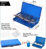 2 Burner Portable Folding Gas Grill BBQ Stove for Outdoor