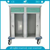 AG-Cht011 Hot Selling Cheap Hospital Instrument Emergency Trolley for Sale