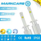 Markcars High Quality 9600lm Gold 60W H3 LED Headlamp