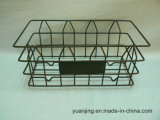 Rectangular Wire Basket-Antique Rustic