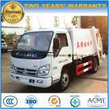 Small 4X2 Forland 4 Tons Compactor Garbage Truck 4 M3 Waste Treatment Truck
