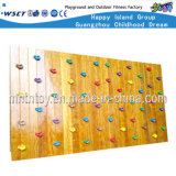 Wooden Wall Mounted Kids Climbing Playground Equipment (HF-19205)
