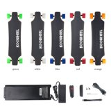 350W Four Wheel Electric Longboard Skateboard with Bluetooth Remote Control