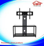 Steel Frame with Cable Management Roating TV Stand