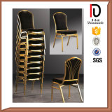 High Quality Classtic Style Leather Fancy Fabric Banquet Chair (BR-A105)