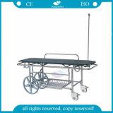 AG-HS016 Medical Equipment Hospital Adjustable Ambulance Stretcher Trolley