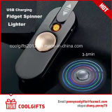 Hot Selling New USB Charging Hand Spinner Lighter