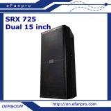 Double 15 Inch Loudspeaker Audio Professional Speaker Monitor (SRX725)